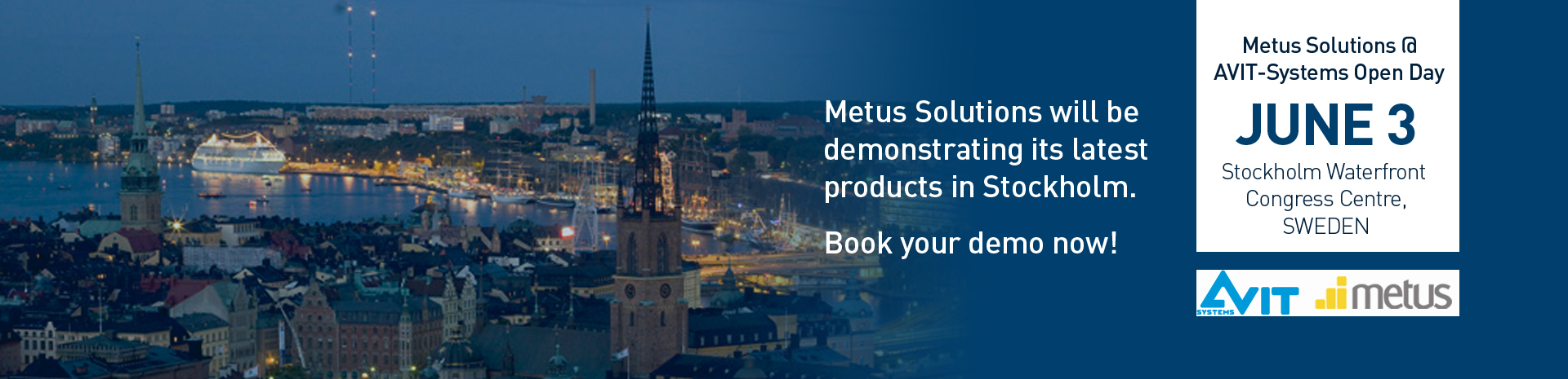 We invite you to join us for our dealer  open day in Stockholm!