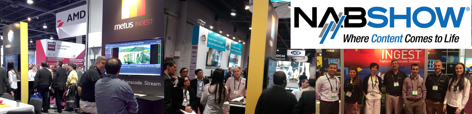 A Huge Thanks to All NAB 2015 Visitors