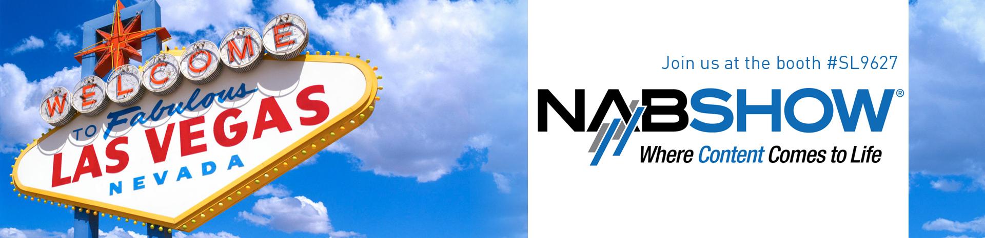 Join us at NAB Show, 13-16 April 2015 Las Vegas!