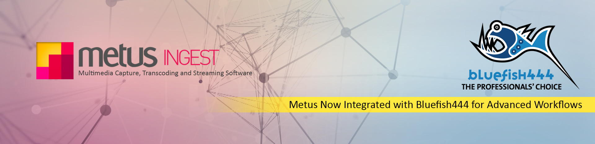 Metus INGEST Expands Support for High-Quality Workflows with BlueFish444
